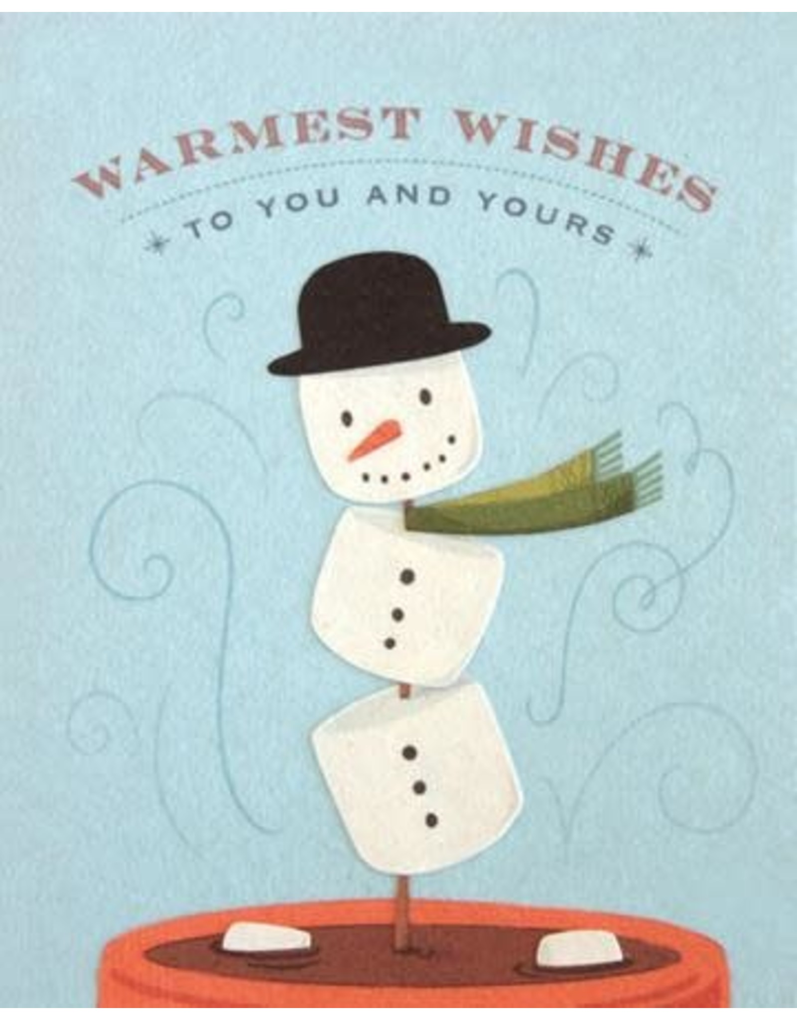 Good Paper Marshmallow Snowman Greeting Card, Philippines