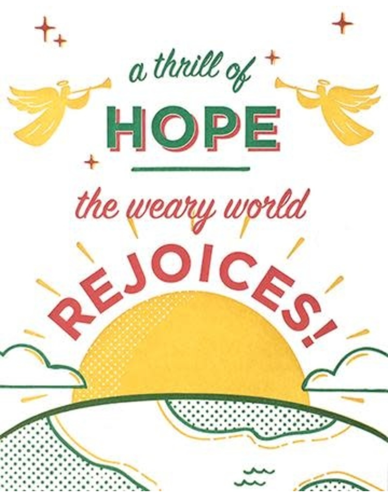 Good Paper Thrill of Hope Greeting Card, Philippines