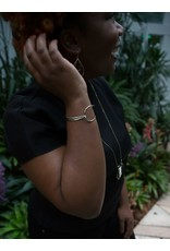 Fair Anita Revival Clasp Bracelet, Silver-plated. India