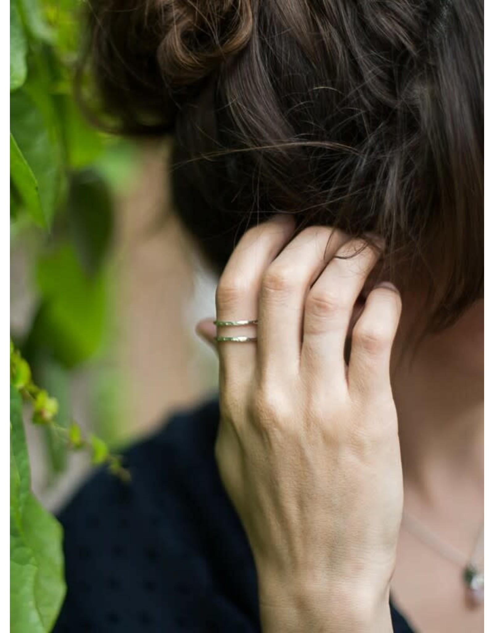 Fair Anita Illusion Ring, Silver-plated. India