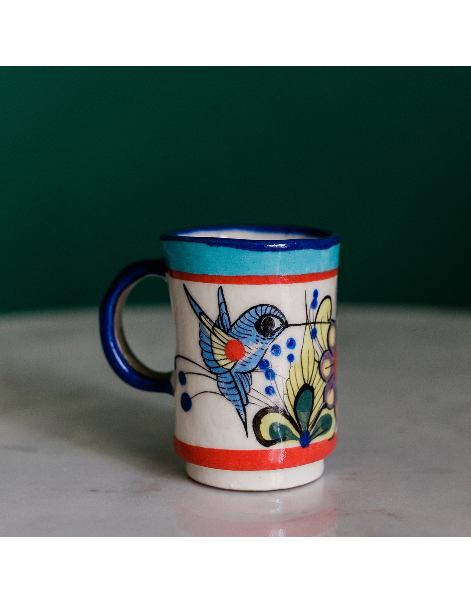 Lucia's Imports Wild Bird Espresso Cup, Guatemala