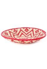 Swahili Wholesale Red & Cream Turtle Fruit Basket, Rwanda