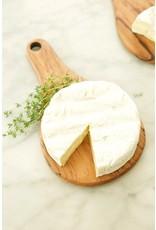 Swahili Wholesale Wild Olive Wood Round Cheese Tray, Kenya