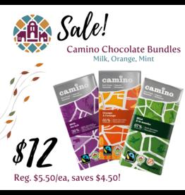 Camino Bundle 3/$12 (milk, orange, mint)