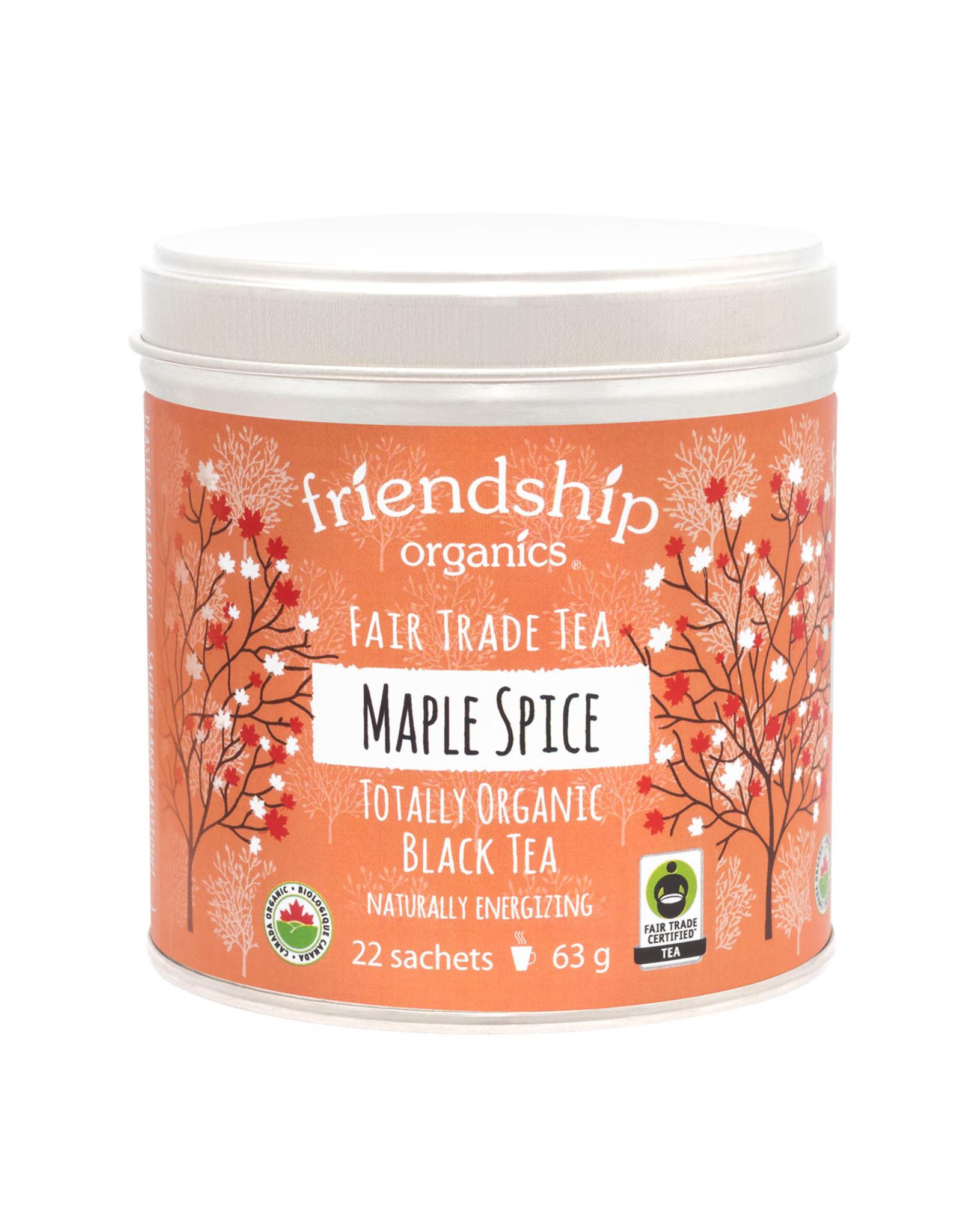 Friendship Organics Friendship Organics Maple Spice Black Tea Tin