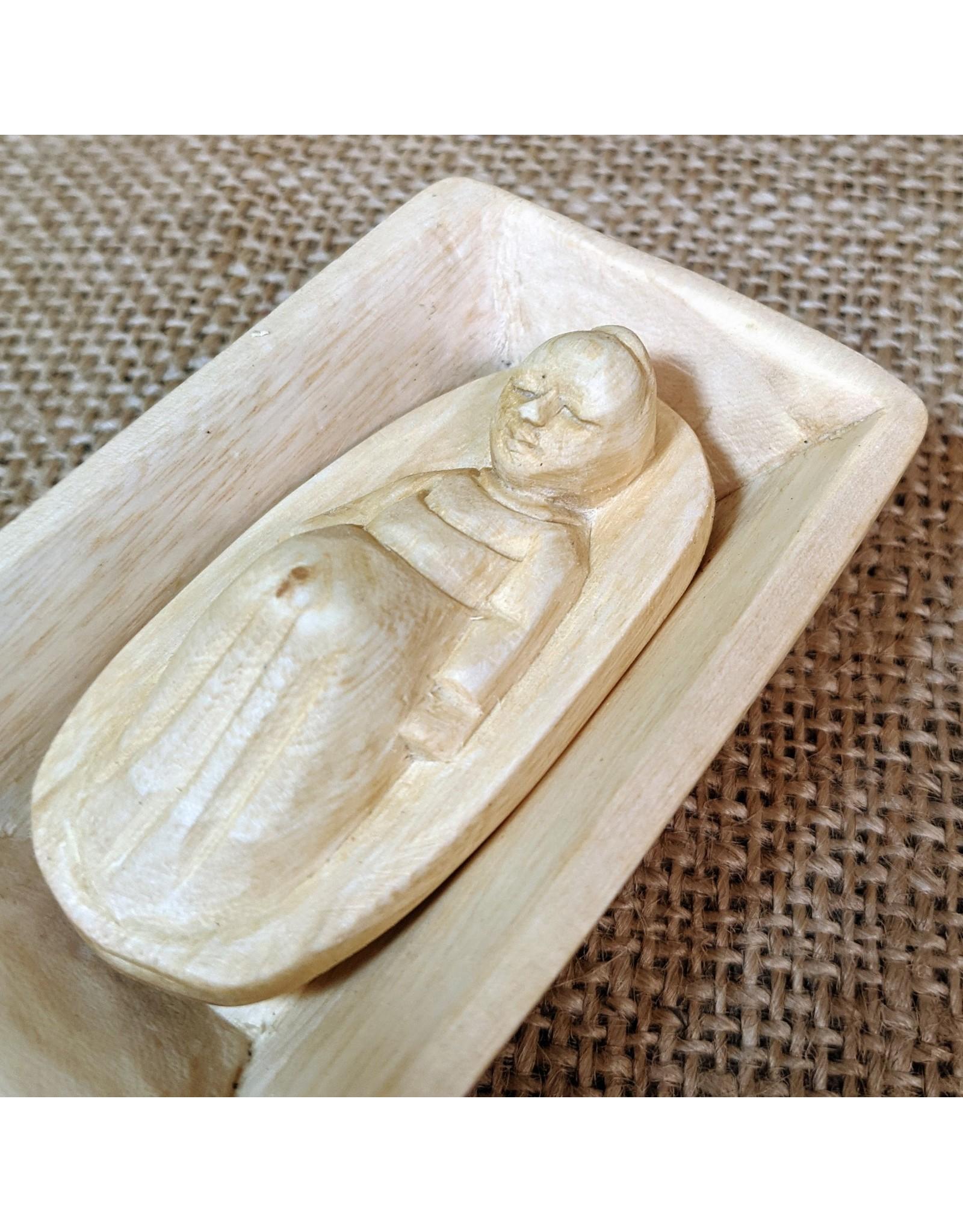 Soko Home Carved Nativity, Beeswax finish. Rwanda