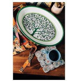 TTV USA Tree of Life Serving Platter, Palestine