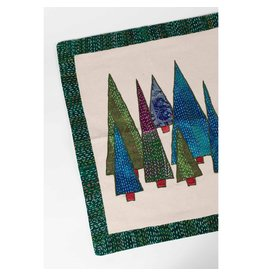TTV USA Kantha Forest Wall Hanging, India