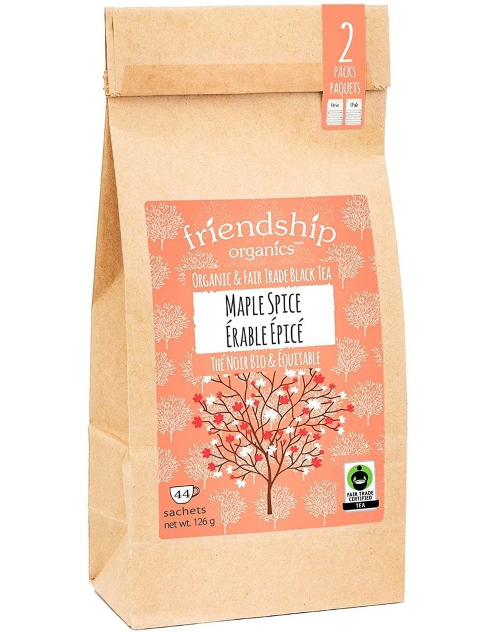 Friendship Organics Friendship Organics Maple Spice Black Tea Twin Pack