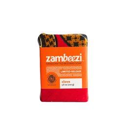 Zambeezi Handcrafted Beeswax Soap, Clove. Zambia