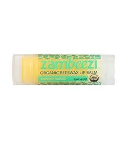 Zambeezi Sweet Basil Organic Beeswax Lip Balm, Zambia