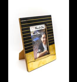 Fair Anita Art Deco Black & Gold Frame, India