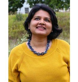 Fair Anita Denim Resin Link Necklace, India