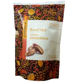 Candela Organic Brazil Nuts (225g), Peru