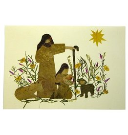 One World Projects Floral Card - Mary & Joseph, El Salvador