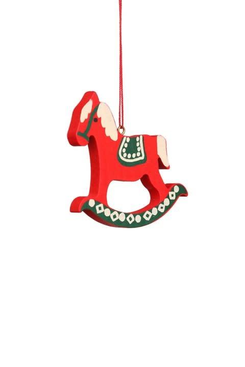 10 0388 Rocking Horse Ornament