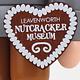 11332 Bavarian Nutcracker Heart w/Museum Name)