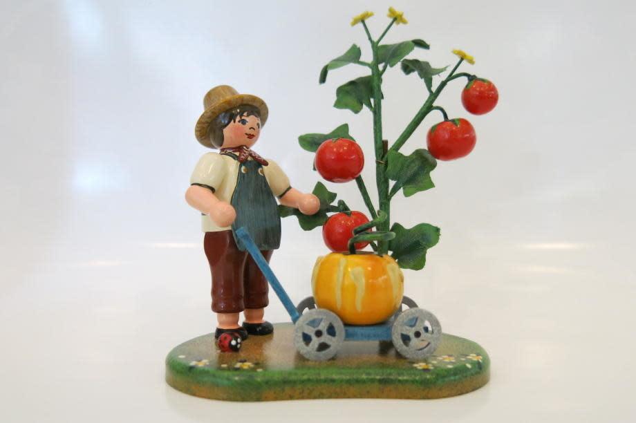 330h0002 Country Idyll - Garden Joy / Apple Harvest