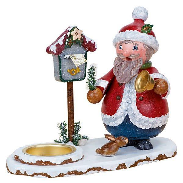 105h1101 Santa Claus with Tealight Smoker
