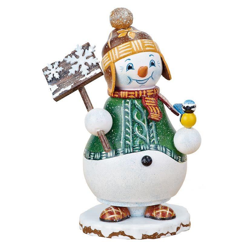 105h1202 Gnome Snowman Smoker