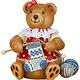 500h1005 Teddy - Mini Knitting Dolly