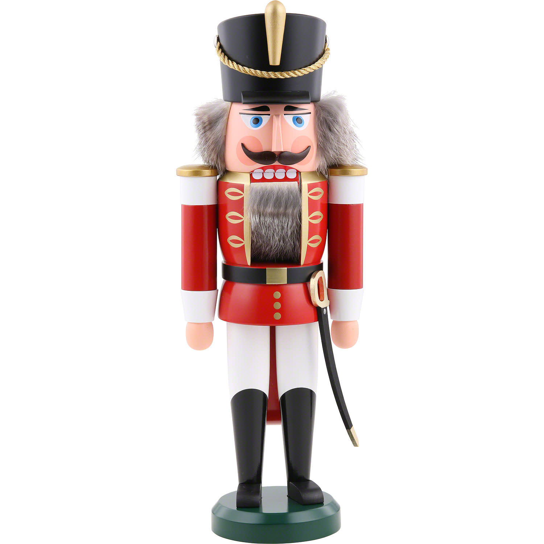 11202-1 Hussar Nutcracker (Red, Large)