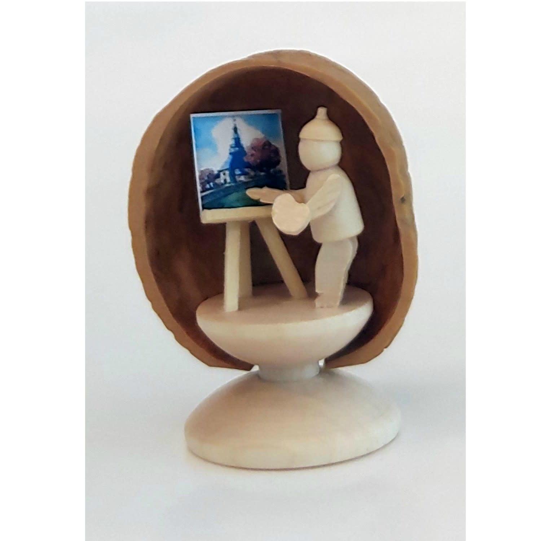 199/488S Walnut shell painter