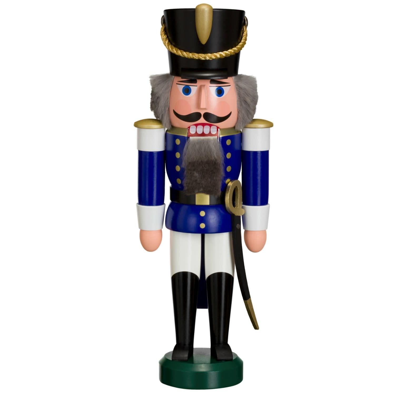 11302-2 Hussar Nutcracker (Blue)
