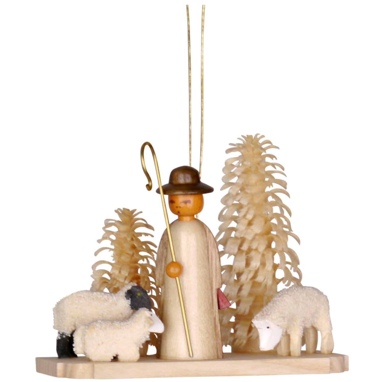 199-470 N - Shepherd with Sheep Ornament