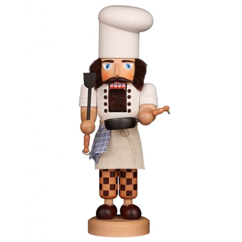 32-569 Ulbricht Nutcracker - Cook Glazed