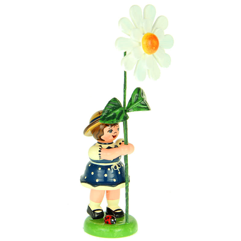 307h0042 Flower Children- Girl with Daisy