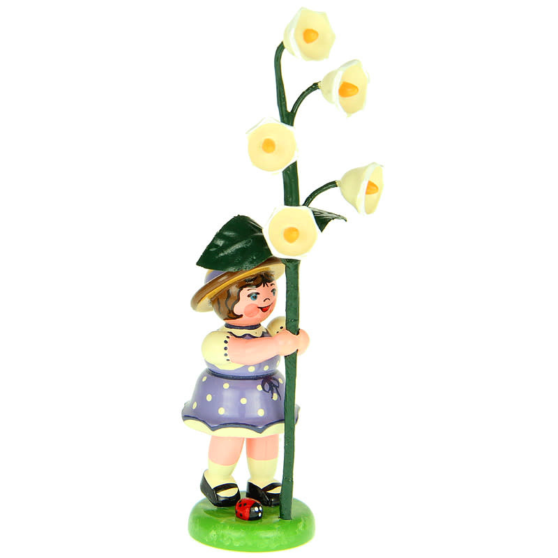 307h0005 Flower Children-Girl with Lily of the Valley