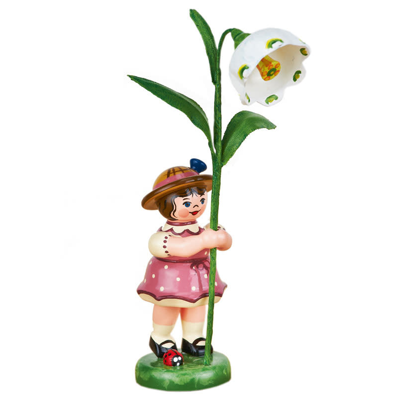 307h0065 Flower Children-Girl with Daffodils of March