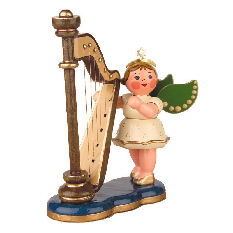 121h0038 Angel - Harp