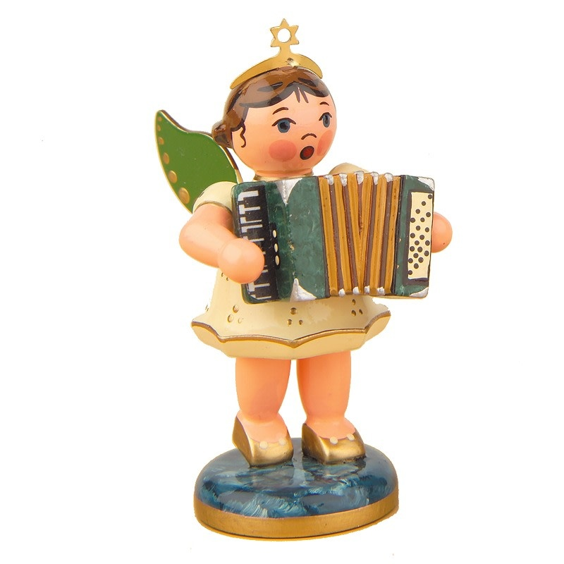 121h0006 Angel with Accordion