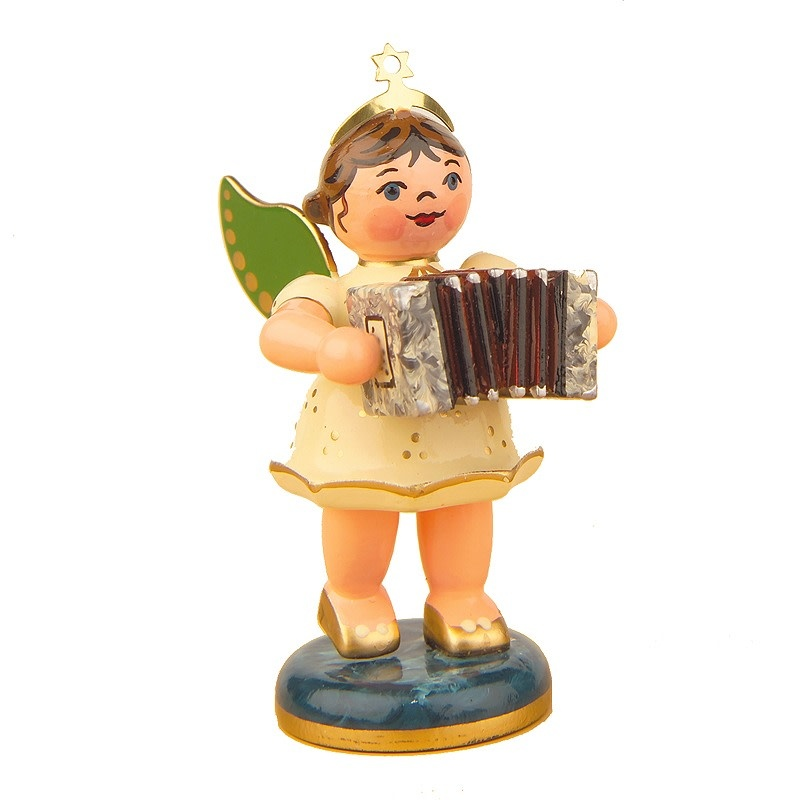 121h0004 Angel with Concertina