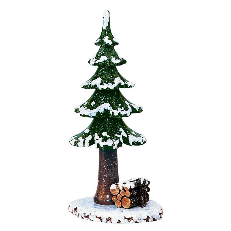 110h1012 Winter Children - Winter Tree with Wood