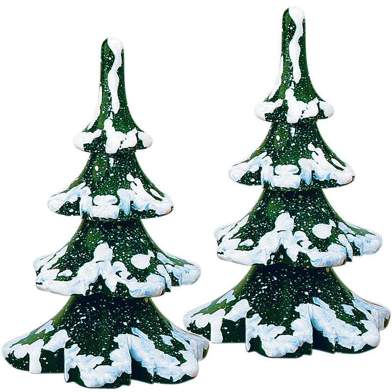 110h1025 Winter Children - Small Winter Tree Set of 2