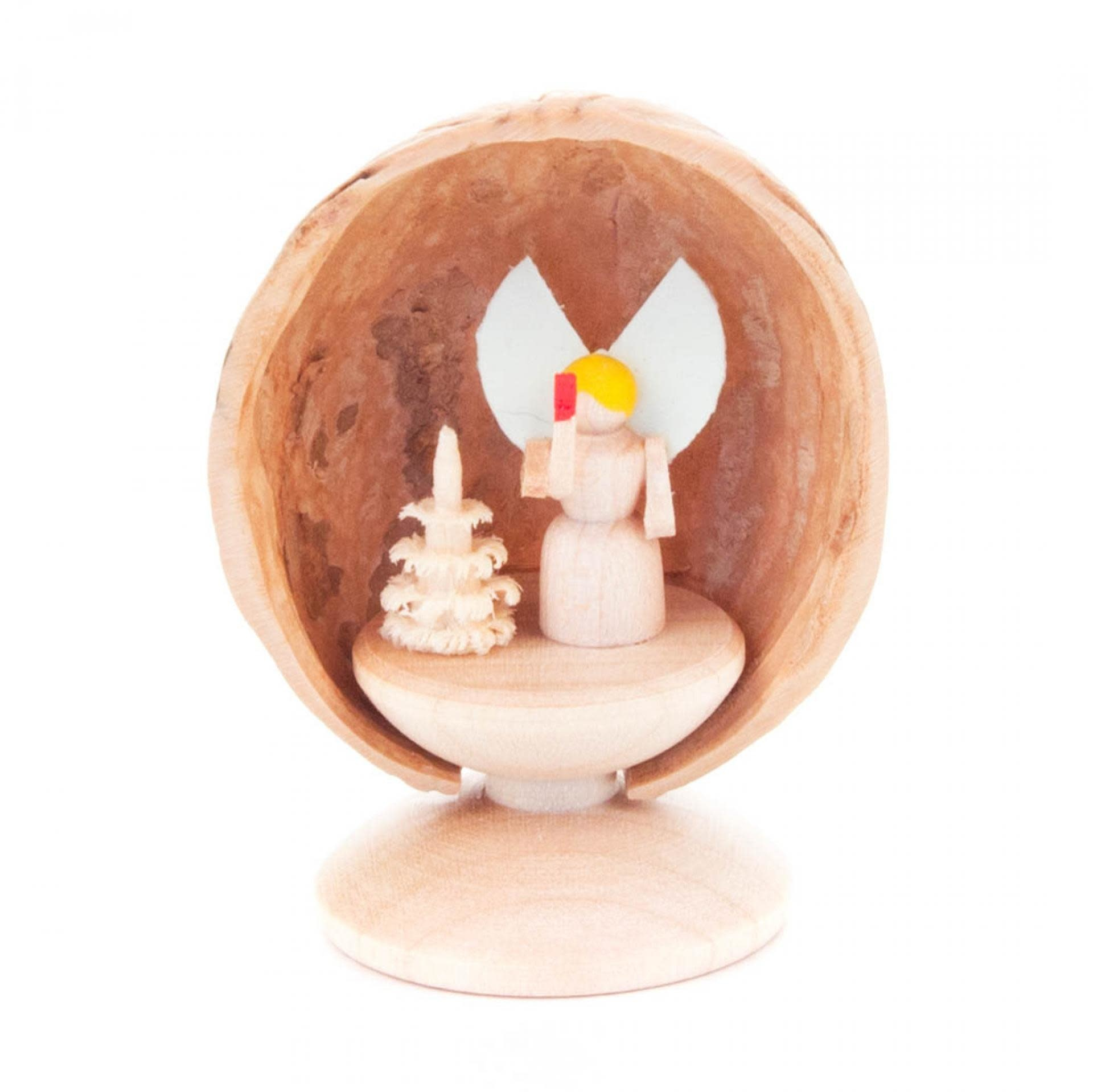199/283S Walnut shell - Angel
