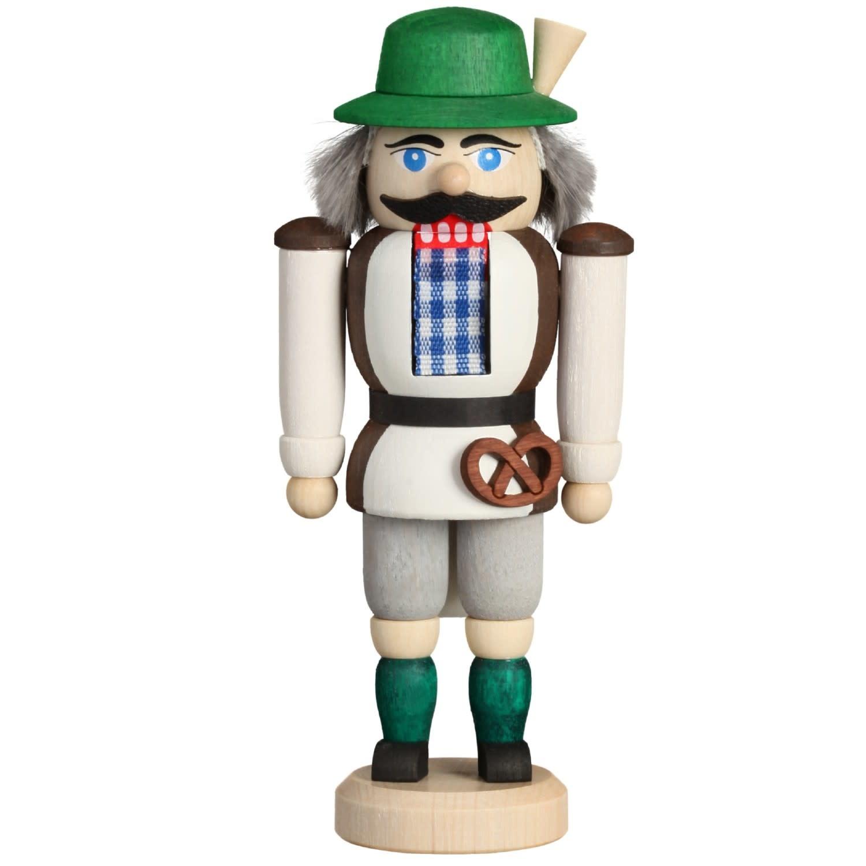 11416 Mini Bavarian Nutcracker w/Pretzel