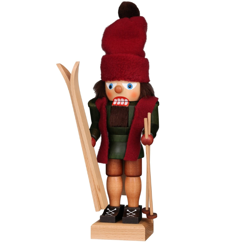 32-664  Ulbricht Nutcracker - Skier