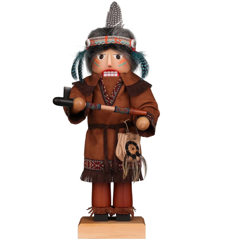 00-0828 Ulbricht  Nutcracker-Red Cloud Indian
