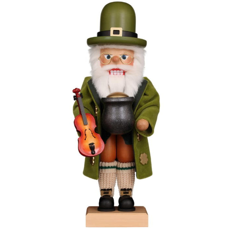 00-0835   Ulbricht Nutcracker - Irish Santa