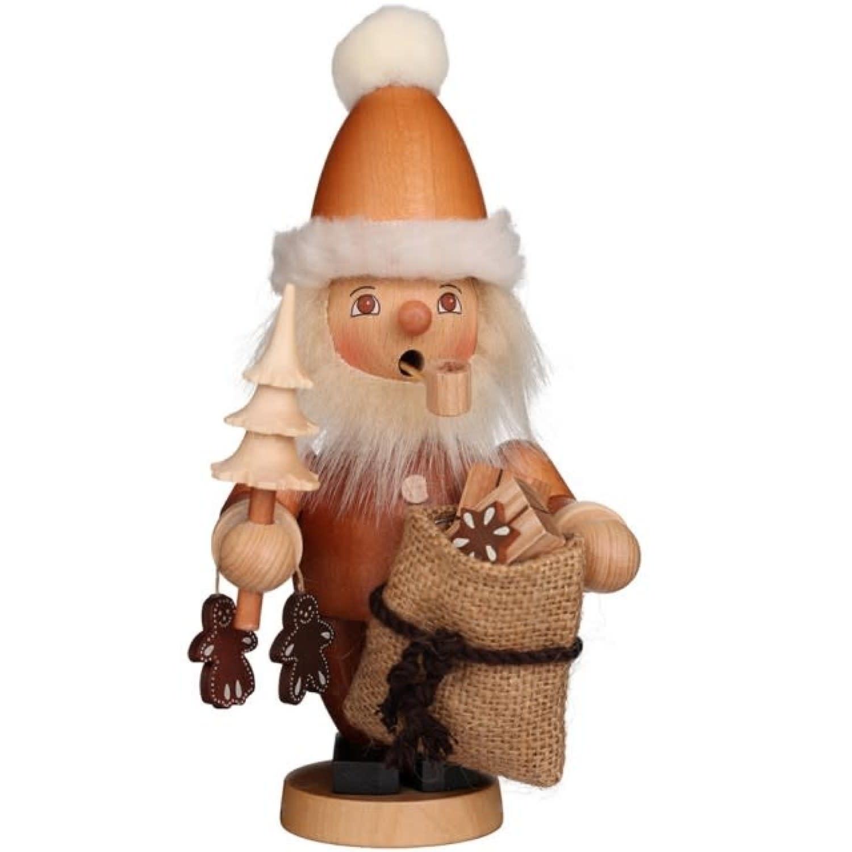 01-0301 Ulbricht Santa Claus Smoker Natural