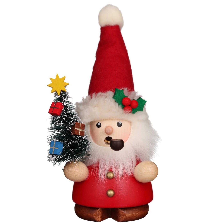 01-0651 Santa with Tree Smoker