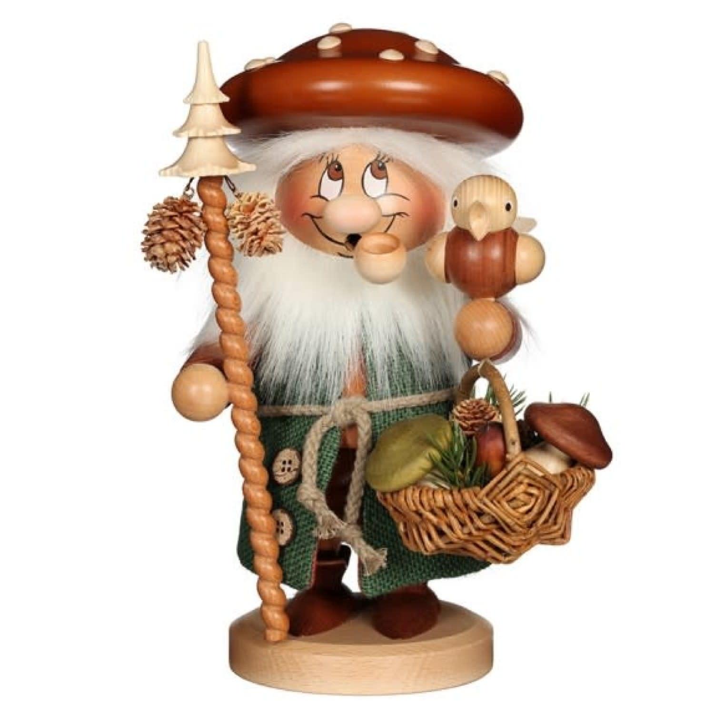 01-0782 Dwarf Mushroom Man Smoker