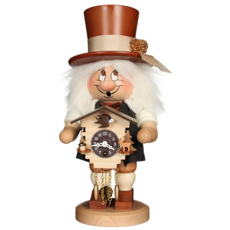 01-0791 Black Forest Dwarf Smoker with Clock