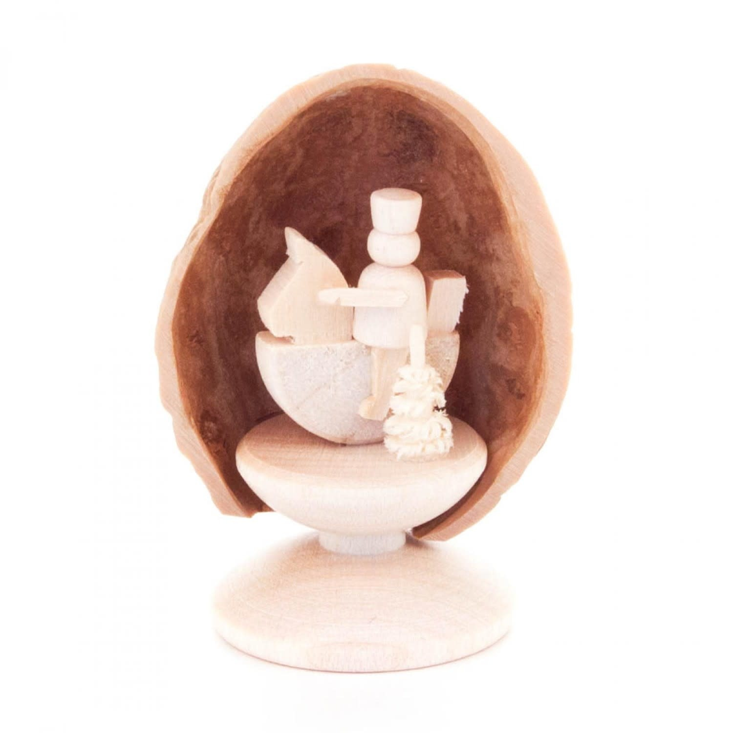199/117S Walnut shell with little rider