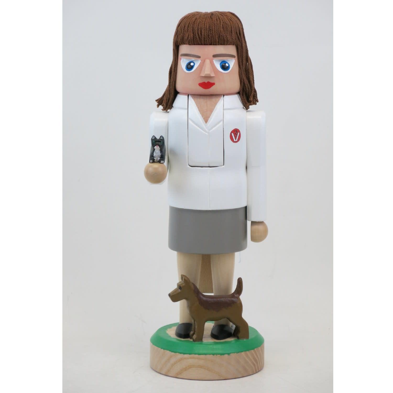 LNM4 Animal Doctor Nutcracker (Female)