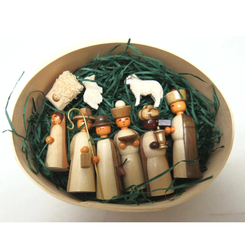 225/233 N SD Miniature Nativity Set